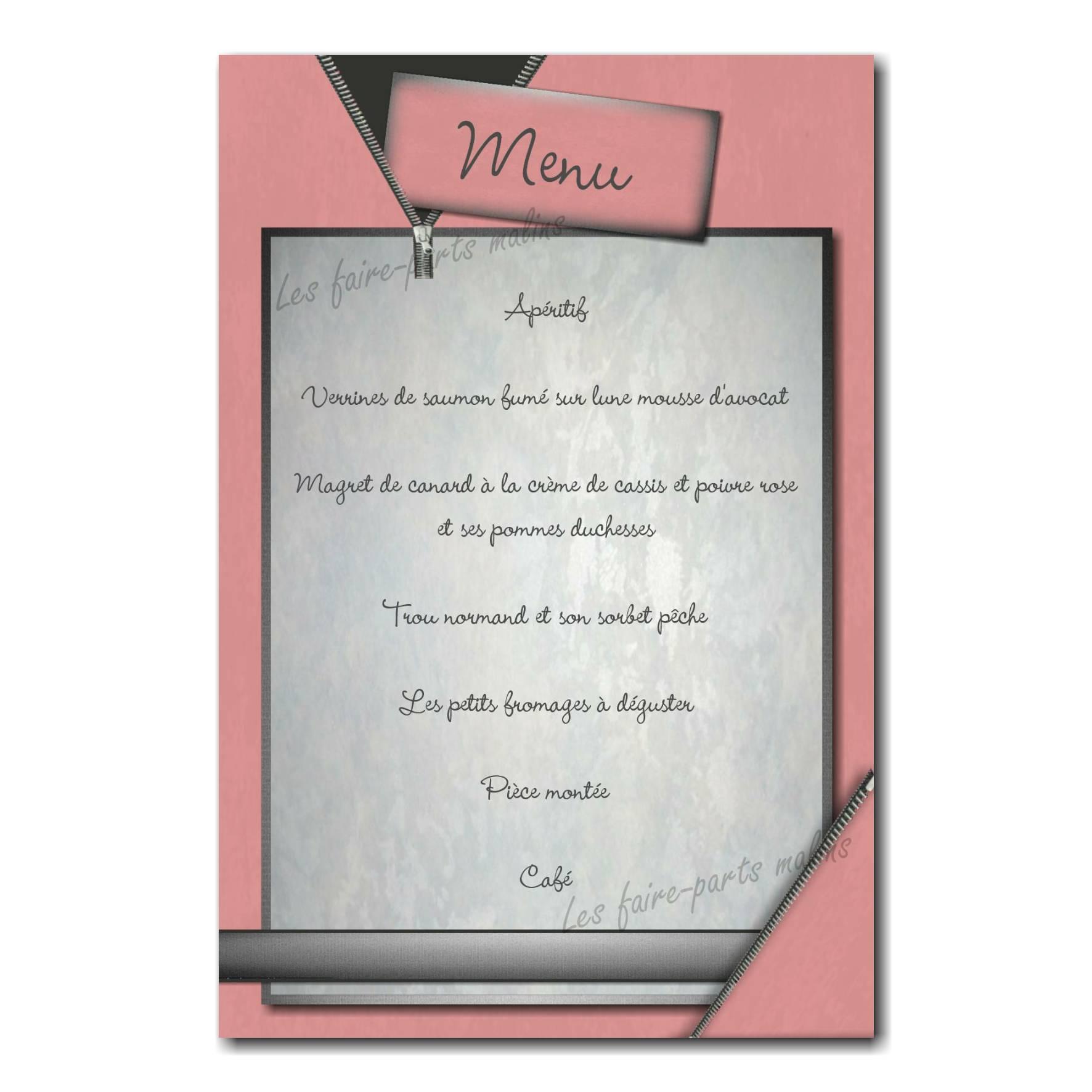 01 fille menu