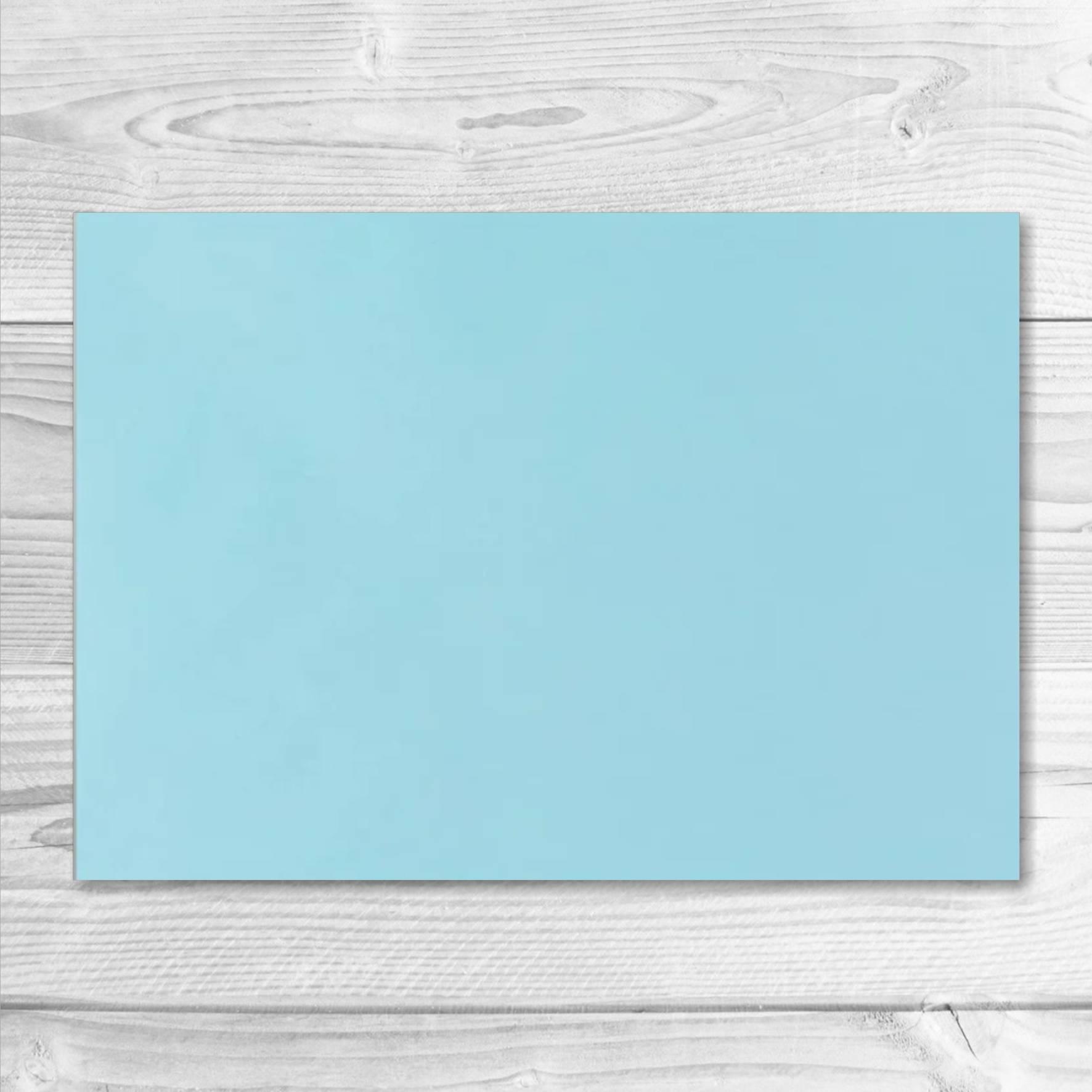 enveloppe bleu pâle 13 x 19 cm