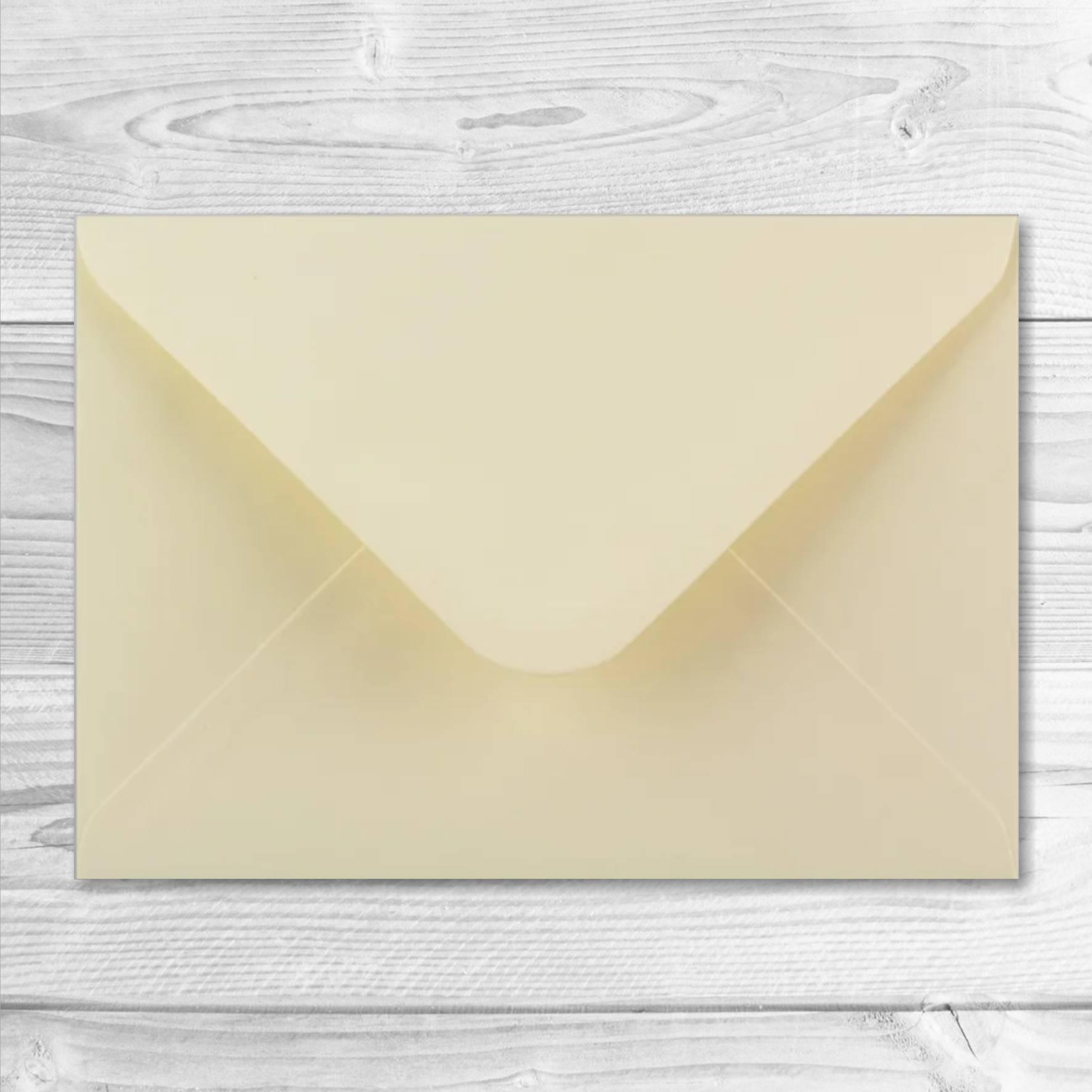 enveloppe beige 13 x 19 cm ouverture