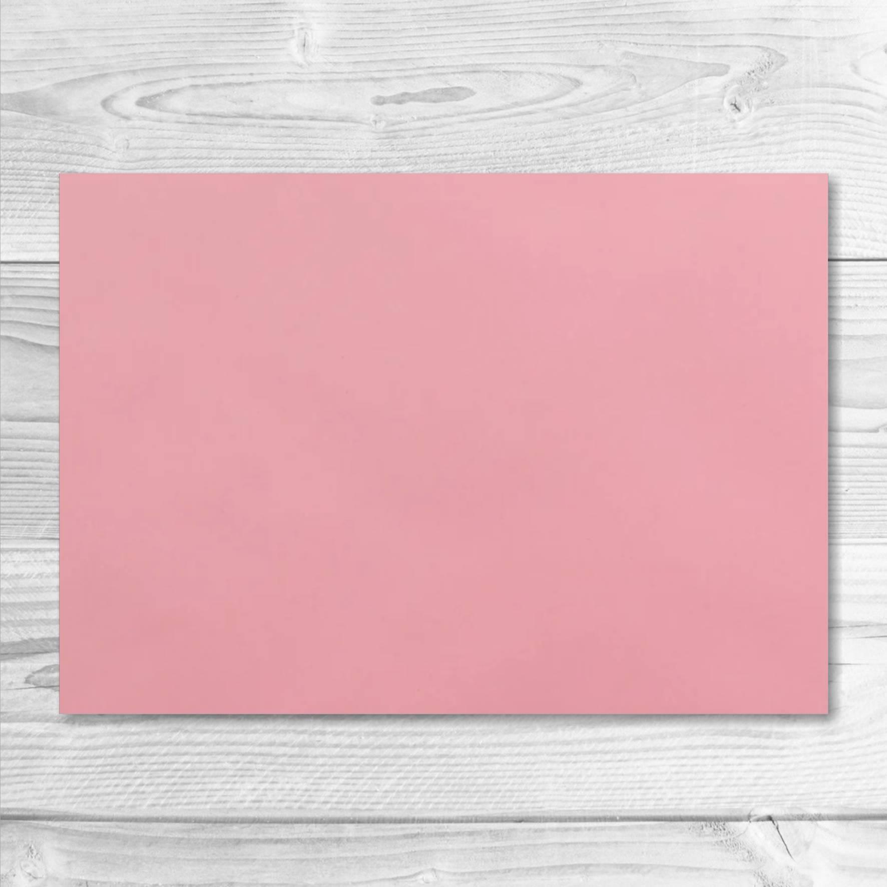 enveloppe rose pâle 13 x 19 cm