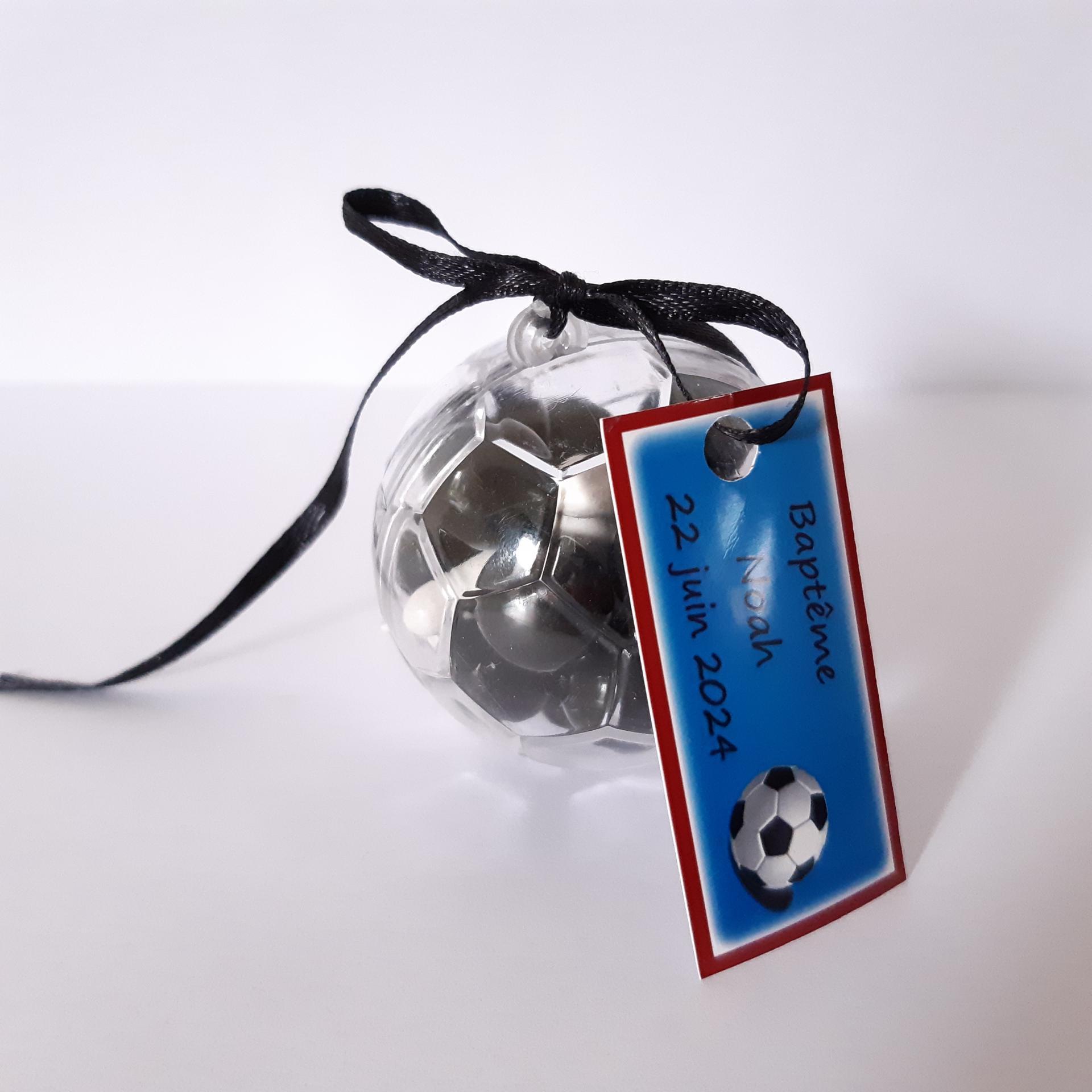 boite dragées ballon de foot