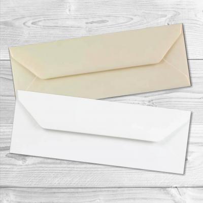 2 enveloppes rectangulaires