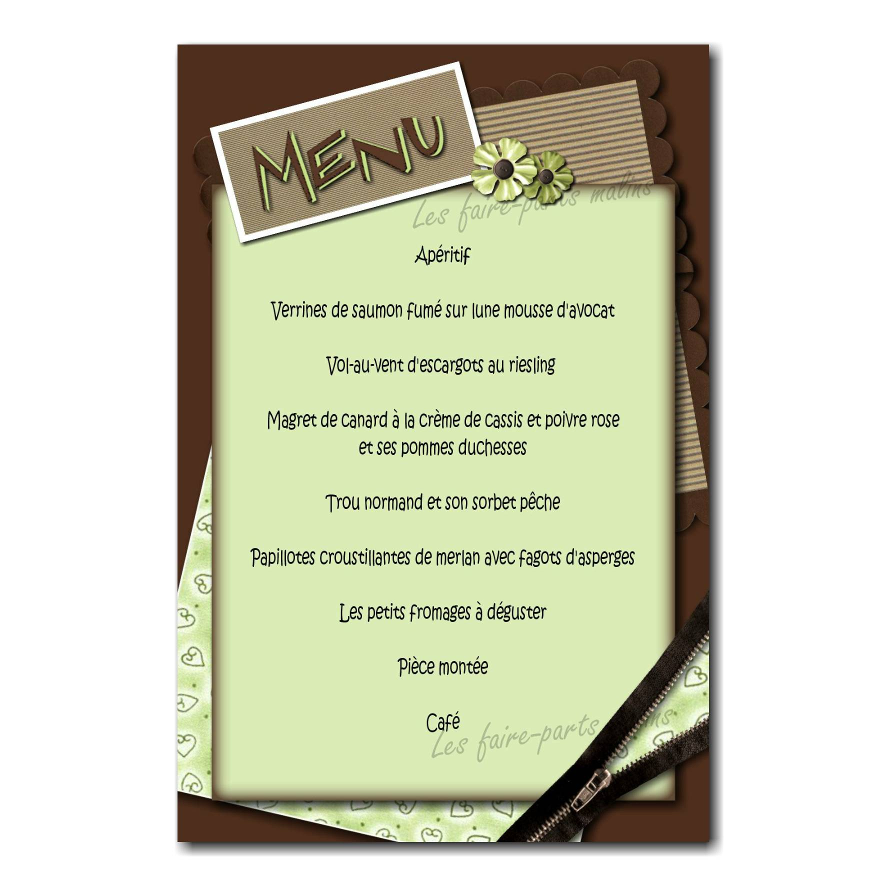 23 mixte menu