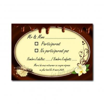 28 mariage petite carte vanille