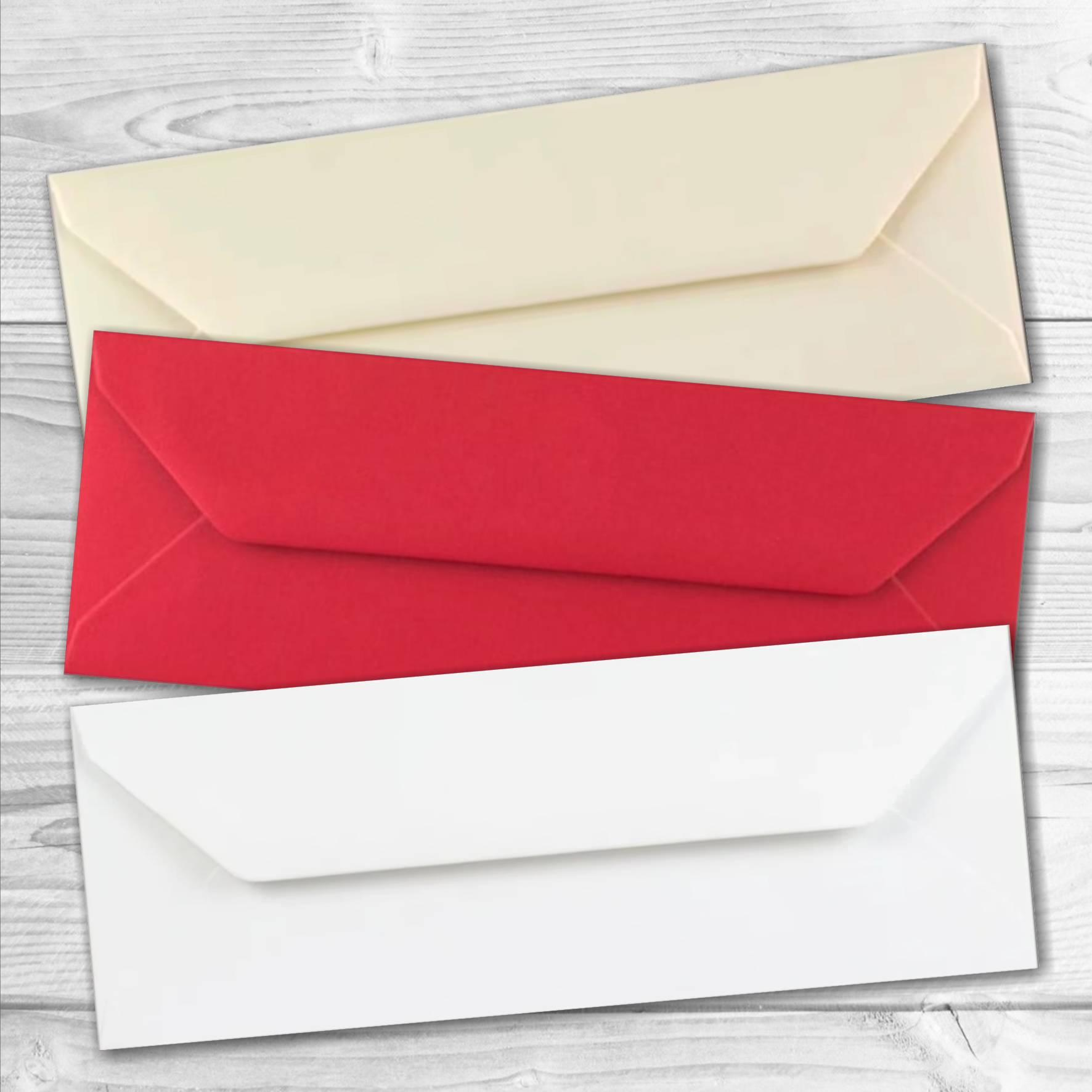 enveloppes format marque-page pas cher