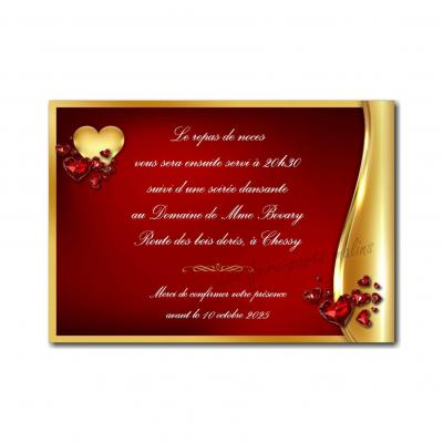 38 mariage petite carte
