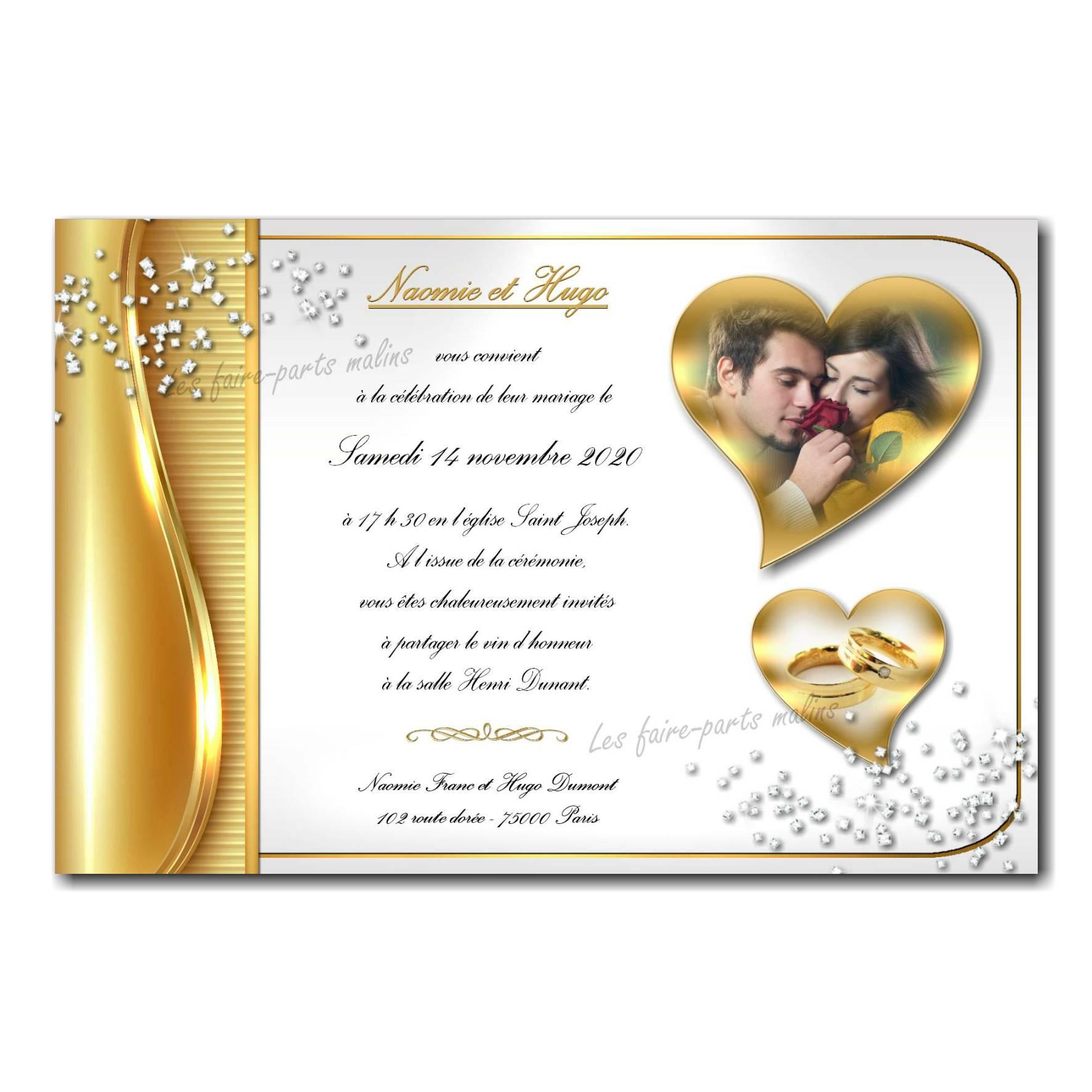 39 mariage faire part 1
