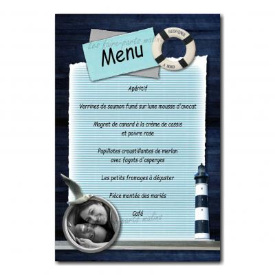 47 mariage menu photo