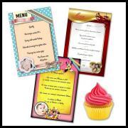 Categorie menu
