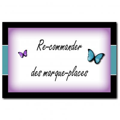 Marque-place