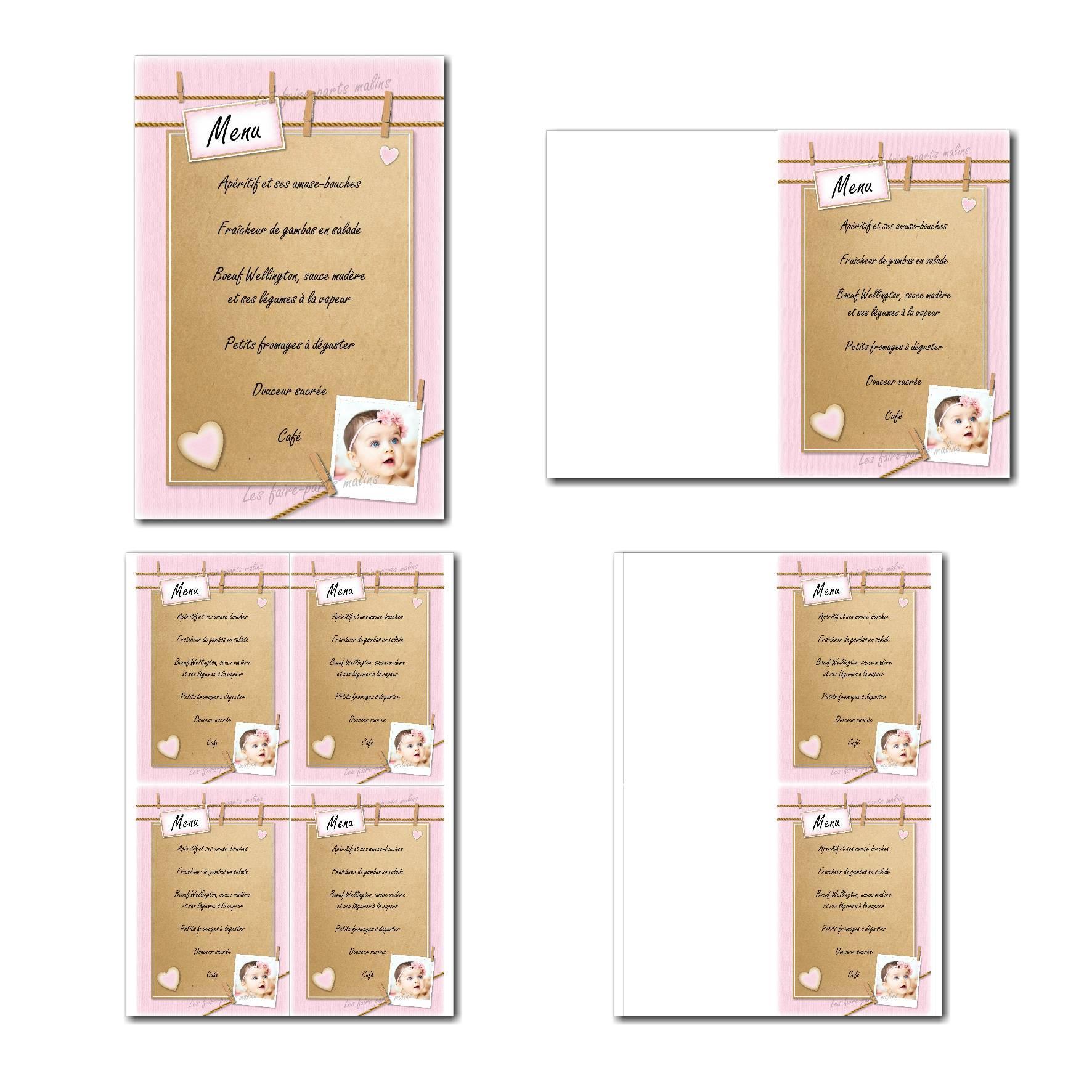Pai 09 fille menu 10x15