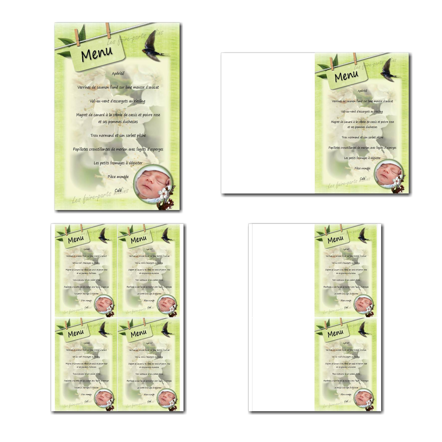 Pai 30 mixte menu 10x15