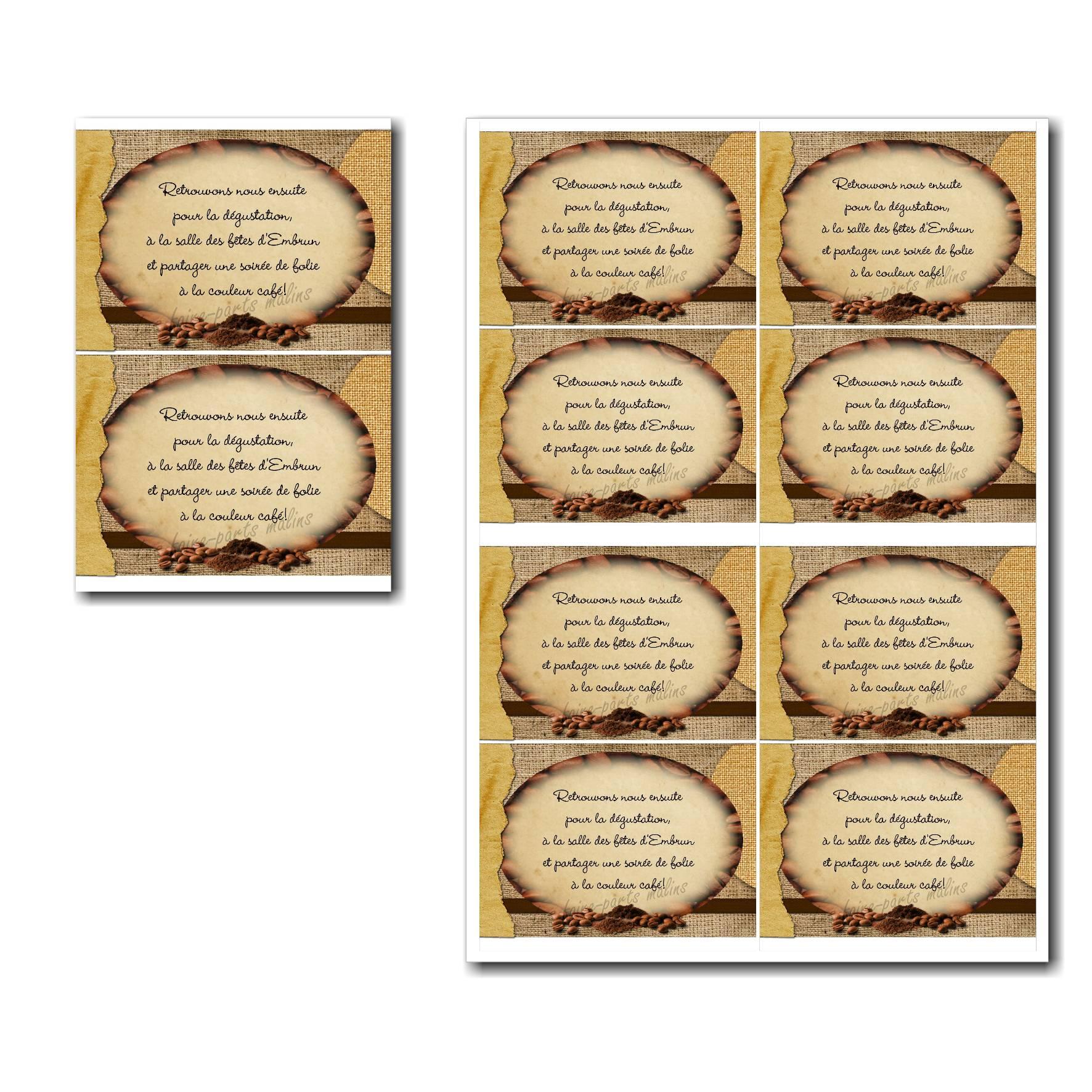 Pai 43 mariage petite carte