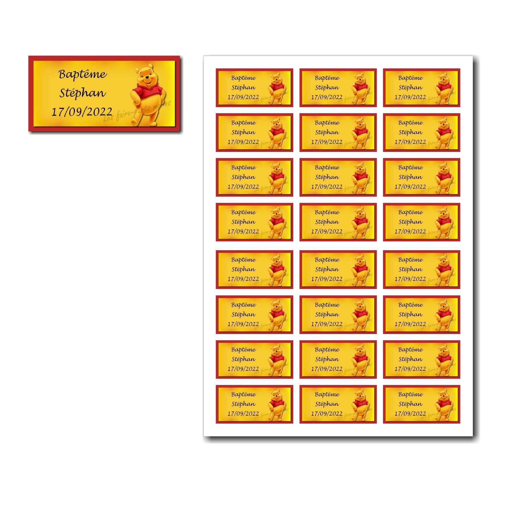 Pai 56 mixte etiquettes dragees