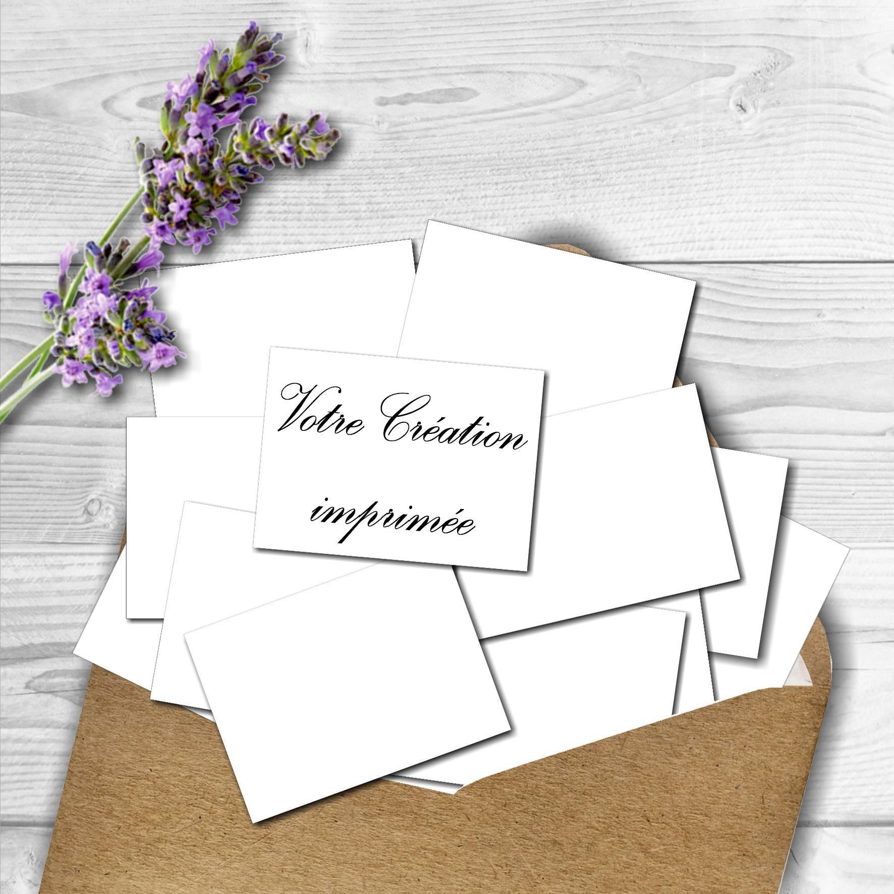faire imprimer mes cartes de visite